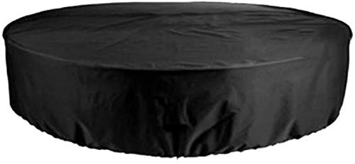 Garden Furniture Covers 188X84cm, Outdoor Furniture Covers, Round Patio Table Chair Set Cover, Water Resistant Fabric, UV Resistant, Extra Large, for Outdoor Dining Table and Chairs