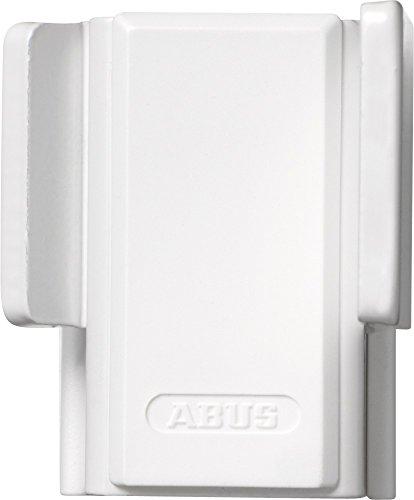 ABUS Fenster-Zusatzsicherung SW20 - Fensterschloss zur Montage ohne Anbohren des Fensterflügels und Rahmen - Sicherheitslevel 4 - 10449 - weiß