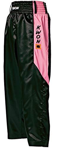 Kwon Satin Hosen ClubLine 180 schwarz-pink
