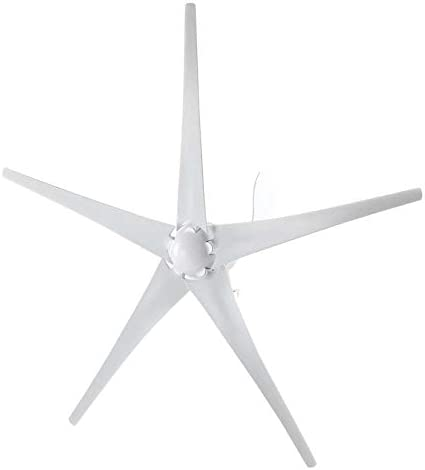 Ejoyous Wind Generator 500W 12V Power Supply Wind Turbine Generator 5 Blades Wind Generator product image
