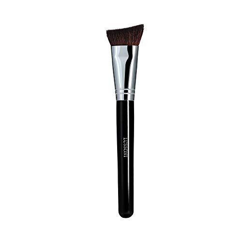 T4B LUSSONI 300 Series Pinceaux Maquillage Professionnel Pour Bronzeurs, Enlumineurs, Fards A Joues, Blush, Poudres Et Contouring, En Forme Ronde Et Coudée (PRO 336 Mélangeur à contour angulaire)