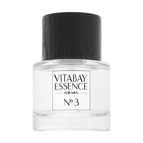 Vitabay Essence No. 3 for men 50 ml • Unwiderstehliches Eau de Parfum • Mit 10% Parfümöl
