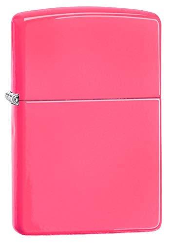 Imagen del productoZippo Neon Pink Mechero, Metal, Rosa, 3.5x1x5.5 cm