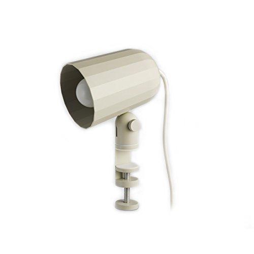 Hay Noc Clip Klemmleuchte, weiß, höhe: 22,5 cm, tiefe: 14,1 cm, länge: 10,2 cm, 400451-1009000