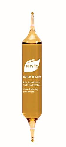 Phyto Huile d'Alès Olio Illuminante e Idratante per Tutti i Tipi di Capelli, 5 Fiale da 10 ml