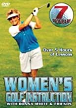 Women's Golf Instruction with Donna White & Friends: 7 Programs