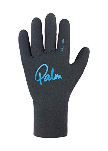 Palm Kajak oder Kajak - Grab Hoch Ten NeoprenWetsuit Handschuhe - Jet Gray - verleimt und blind Stitched BAU