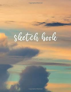 Sketch Book: sketch book for the artist - 120 Pages - Large (8.5 x 11 inches) ( Multi-color - Journal, Notebook, Diary, Co...