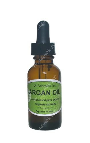 Argan Oil the Purity of Nature Organic Moisturizing Oil 100% Pure Cold Pressed Unrefined Organic Nourish and Revitalize Skin Wrinkle Treatment and Fig