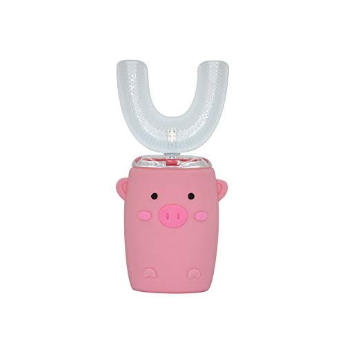 K99 Infantil Cepillo de Dientes eléctrico, Resistente al Agua IPX7 360 °...