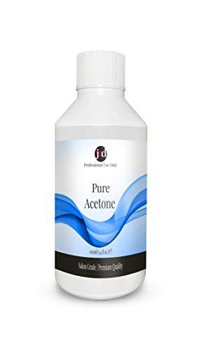 JND 100% Pure Acetone Soak-Off Gel Acrylic Tips Nail Glue Nail Polish...
