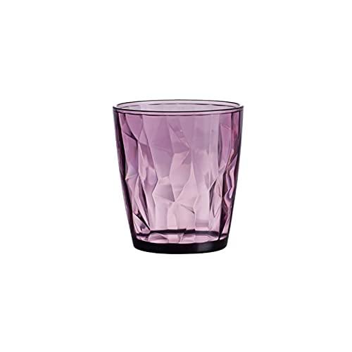 HAIBOMY Bicchiere d'Acqua 500 ml colorato Tazza di Acqua Premium Bere Bicchieri da Cocktail Birra Vetro Spesso Base caffè Latte Tazza di tè (Capacity : 500ml, Color : C)