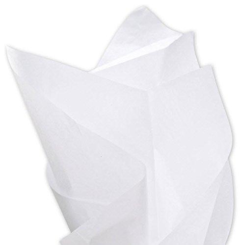 EGP Solid Tissue Paper 20 x 30 (White-9M) 480 Sheets per Ream