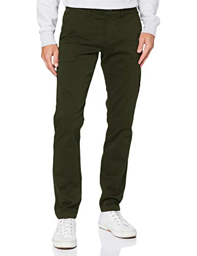 Pepe Jeans Charly Pantalones, Verde (699 After Dark Green), 36W / 30L para Hombre