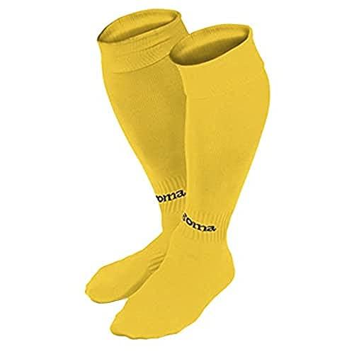 Calcetines Joma amarillos de fútbol