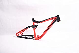 LUTU Full Suspension Aluminium frame Alloy MTB Mountain DH Cycling Bicycle Frame 26/27.5er17inch Downhill Bicycle Part