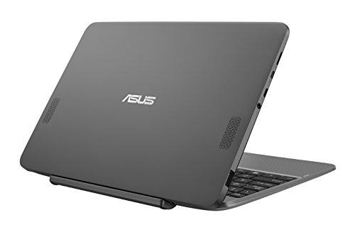 Asus Transformer Book T101HA-GR004T Notebook Convertibile, Display da 10.1', Processore Atom Z8350 Quad Core, 1.44 GHz, eMMC da 64 GB, 2 GB di RAM, Glacial Grey [Layout Italiano]