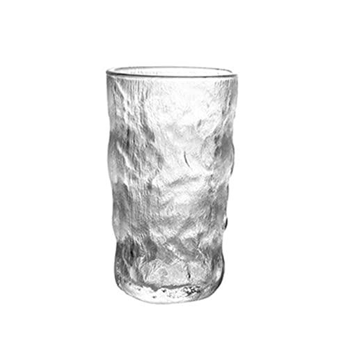 PQQ Vaso de Whisky Vasos de Licor Vasos Copas de Vino de Cristal Copas de Agua 100% sin Plomo para Hombres Regalos del día del Padre Barras de Fiesta Juego de 6 en casa (Color : 380ML)