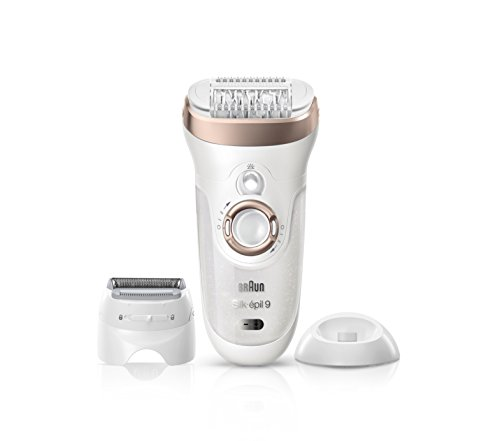 Silk Epil 9-561 Women's Wet and Dry Cordless Epilator with 6 Extras...