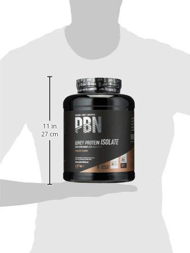 Premium Body Nutrition, proteine isolate del siero di latte in polvere (Whey-ISOLATE), 2,27 kg, cioccolato, 75 porzioni