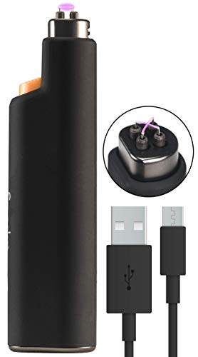Sparkr Flip Electric Lighter, Rechargeable Flameless Plasma Arc Lighter