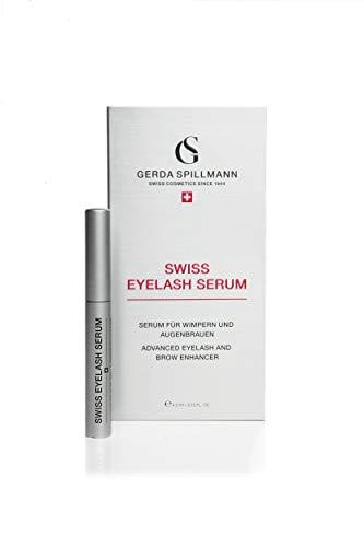 SWISS EYELASH SERUM (Wimpernserum und Augenbrauenserum zur Verlängerung der Wimpern und Augenbrauen, Augenwimpern-Conditioner, Wimpern Booster, fördert Wimpernwachstum, 4.5ml)