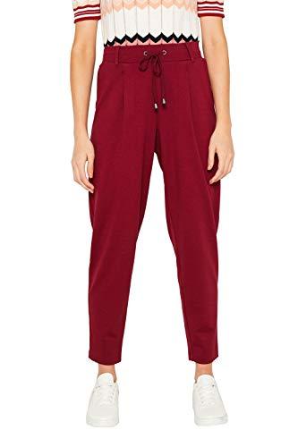 edc by ESPRIT Damen 089Cc1B025 Leggings, Rot (Garnet Red 620), W(Herstellergröße: XL)