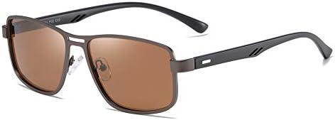 FEISEDY Men s Retro TR90 Ultra Light Square Frame Driving Polarized Sunglasses B2531 product image