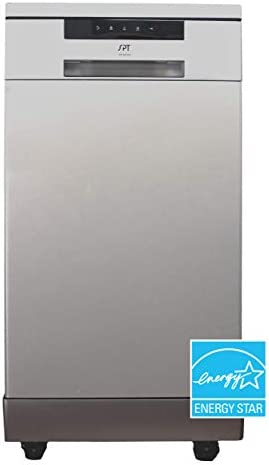 SD 9263SS 18 Energy Star Portable Dishwasher Stainless Steel product image