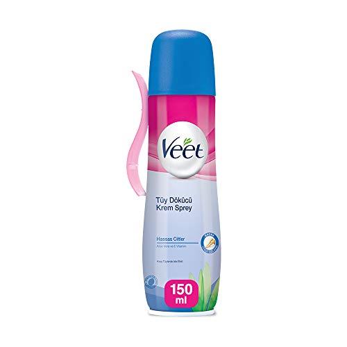 Veet Spray On Hair Removal Cream for Sensitive Skin - 150ML