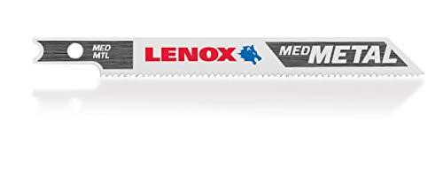LENOX Tools 1991570 U-Shank Medium Metal Cutting Jig Saw Blade, 3 5/8