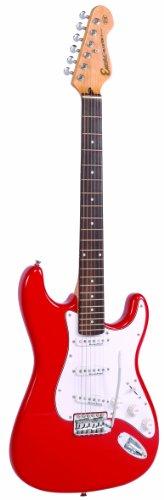 Aún E6RED de la guitarra eléctrica roja