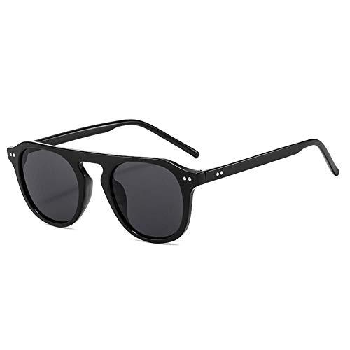 ZZOW Gafas De Sol Cuadradas Vintage para Mujer, Decoración De Uñas A La Moda, Gafas De Color Gelatina, Gafas De Sol De Piloto De Tendencia para Hombre, Sombras Uv400