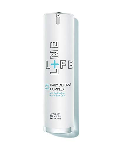 Lifeline Daily Defense Complex Super-potent Formulation Visibly Firms, Tones and Defends Skin Every Day - Powerful Concentrations of Peptides, Ultrasomes, Antioxidants to Deliver Noticeable Results.