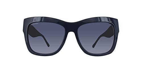 Swarovski Sonnenbrille SK0141-98W-54 Gafas de sol, Azul (Blau), 54.0 para Mujer