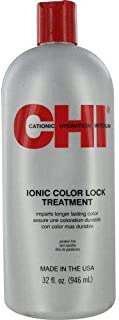CHI Ionic Color Lock Treatment by CHI for Unisex - 32 oz Treatment, 946 ml