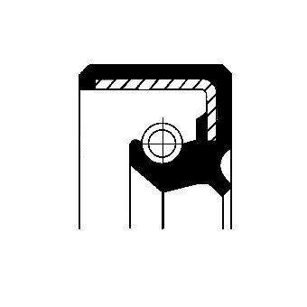 Corteco 01020303B Anillo retención, mecanismo dirección