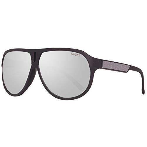 Guess GU6729 6402C Sonnenbrille GU6729 02C Aviator Sonnenbrille 64, Schwarz