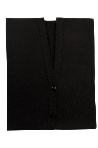Lässig Echarpe / T-Shirt Allaitement Allover - Noir