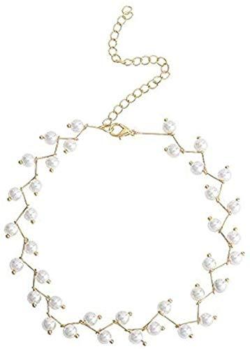 ZPPYMXGZ Co.,ltd Collar Broche Mujer Collar Cadena Hueso