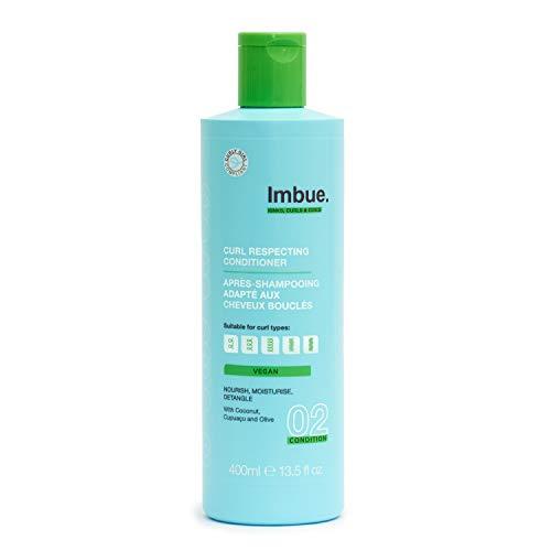 Imbue Curl Respecting Conditioner, Pflegespülung für Locken - Vegan und 'Curly Girl'-Methode freundlich, 400 g