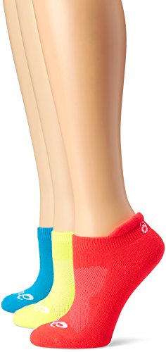 ASICS Women's Cushion Low-Cut Sock (Pack of 3)
