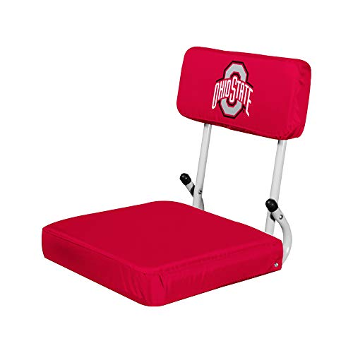 Logo Brands NCAA Ohio State Buckeyes Unisex Hard Back SS, One Size, Team Color