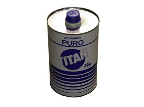 Industrias Titan. S.L 086-5 - Aguarras puro titan 5 lt