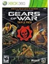 New Microsoft Xbox 360 Gears War Triple Pack Join Marcus Fenix Delta Squad Third Person Shooter