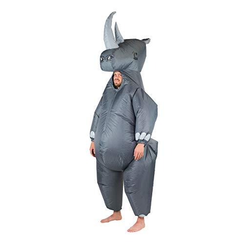 Bodysocks Fancy Dress Aufblasbares Riese Rhino Nashorn Kostüm