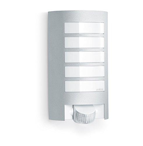 Steinel L12 Lampada per Esterni con Sensore L 12, Aluminio