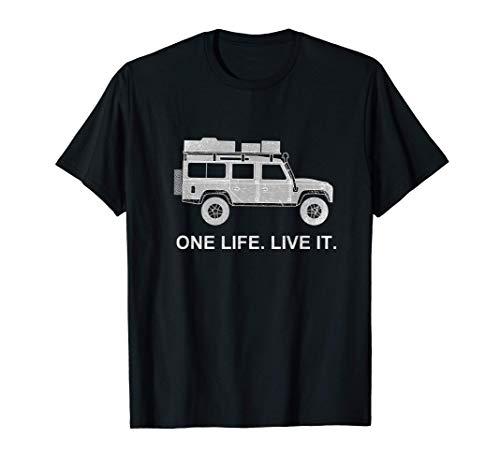 Defender Dachzelt Offroad 4x4 Reisefahrzeug Geschenk lustig T-Shirt