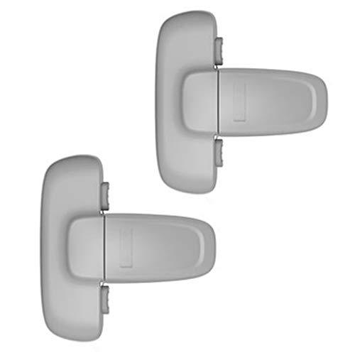 2 piezas Seguridad de Refrigerador Cerradura de la Puerta del fácil de instalar y usar de Adhesivo sin necesidad de herramientas o taladro