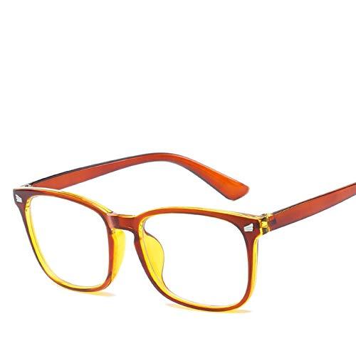 De Luz Azul Gafas 3 unids Blue Light Glasses Hombres Gafas de computadora Gafas Gafas Transparente Eyewear Marco Mujeres Anti Blue Ray Gafas Gafas Para Juegos (Frame Color : A)